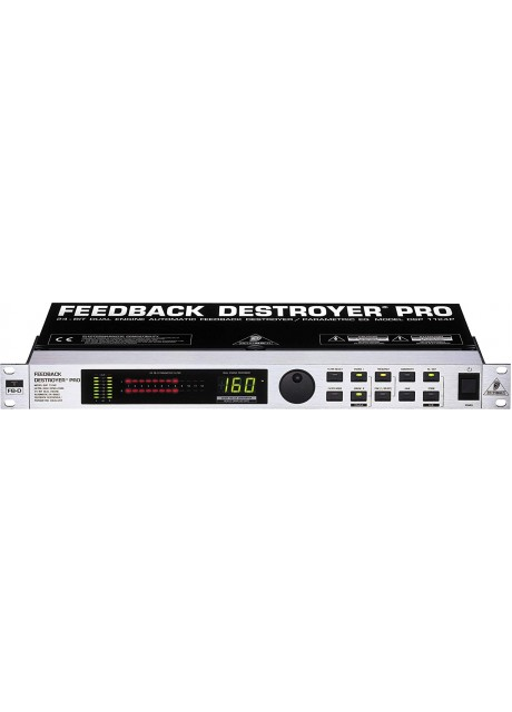 Behringer DSP1124P Digital 24-Bit Feedback Suppressor/Parametric
