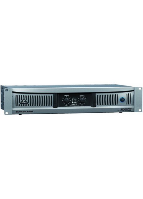 Behringer EPQ2000 Europower 2000W Light Weight Stereo Power Amplifier
