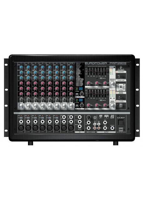 Behringer PMP1280S 1,200-Watt 10-Channel Powered Mixer