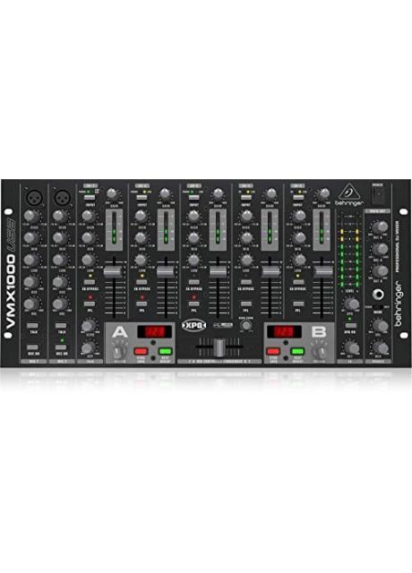 Behringer Pro Mixer VMX1000USB Professional 7-Channel Rack-Mount