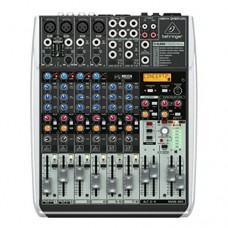 BEHRINGER QX1204USB Premium 12-Input 2/2-Bus Mixer Xenyx Mic Preamps