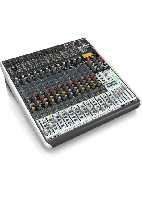 BEHRINGER, QX2442USB Premium 24-Input 4/2-Bus Mixer with Xenyx Mic Preamps