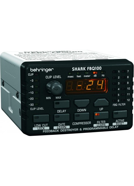 Behringer Shark FBQ100 Automatic Feedback Destroyer with Integrated Microphone Preamp