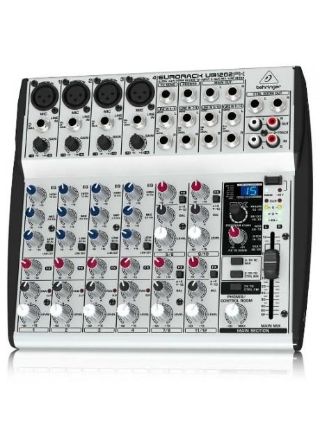 Behringer UB1202FX Eurorack Ultra-Low Noise 12-Input 2-Bus Mic/Line Mixer