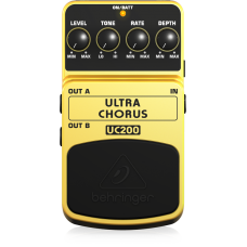 Behringer UC200 Ultra Chorus Effects Pedal