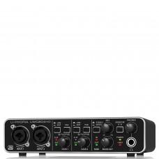 Behringer UMC204HD Audiophile 2x4, 24-Bit/192 kHz USB Audio/MIDI Interface