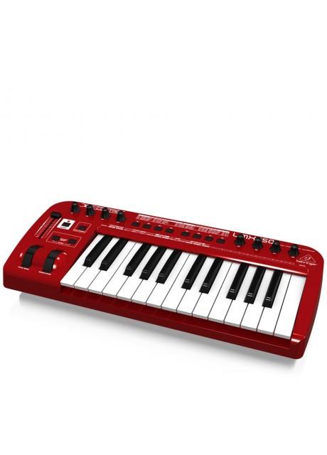 Behringer UMX250 U-Control 25 Key USB/MIDI Controller Keyboard