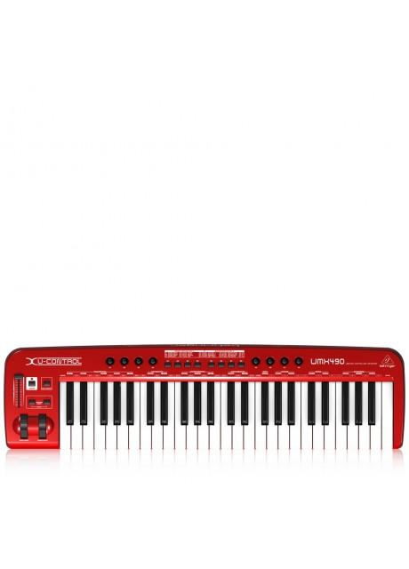 Behringer UMX490 U-Control 49 Key USB/MIDI Controller Keyboard