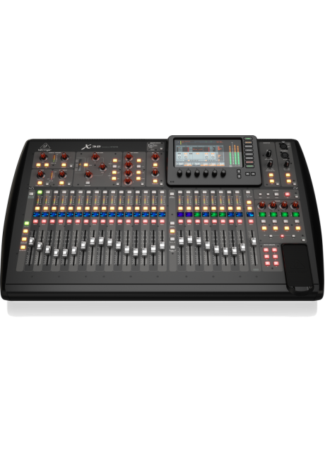 Behringer X32 40-Input, 25-Bus Digital Mixing Console with 32 Programmable Midas Preamps, 25 Motorized Faders, Channel LCD s, 32-Channel Audio Interface and iPad/iPhone* Remote Control