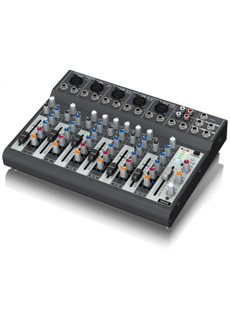 Behringer Xenyx 1002B Premium 10-Input 2-Bus Mixer with XENYX Preamps, British EQs