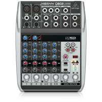 Behringer Xenyx Q802USB Premium 8-Input 2-Bus Mixer with USB/Audio