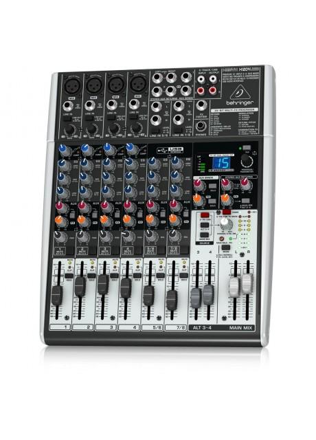 Behringer Xenyx X1204USB Premium 12-Input 2/2-Bus Mixer with USB
