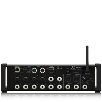 BEHRINGER XR12 12-Input Digital Mixer for iPad/Android Tablets with 4 Programmable Midas Preamps, 8 Line Inputs, Integrated Wifi Module and USB Stereo Recorder