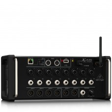 BEHRINGER XR16 16-Input Digital Mixer for iPad/Android Tablets with 8 Programmable Midas Preamps, 8 Line Inputs, Integrated Wifi Module and USB Stereo Recorder
