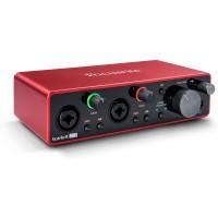 Focusrite Scarlett 2i2 3rd Gen USB Audio Interface with Pro Tools
