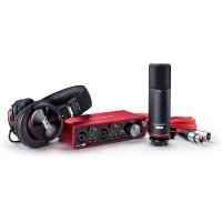 Focusrite Scarlett 2i2 Studio (3rd Gen) USB Audio Interface and Recording Bundle with Pro Tools