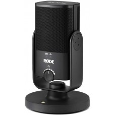 Rode NT-USB-Mini USB Microphone with Detachable Magnetic Stand, Built-in Pop Filter and Headphone Amplifier