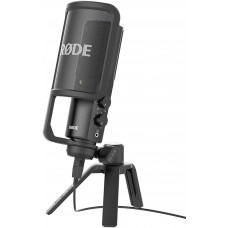 Rode NT-USB Versatile Studio-Quality USB Cardioid Condenser Microphone, Black
