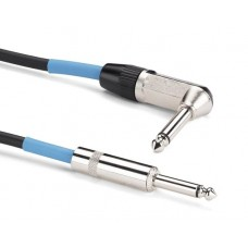 Samson TIL10 Genuine Neutrik nickel-plated phone plug 10' Instrument Cable