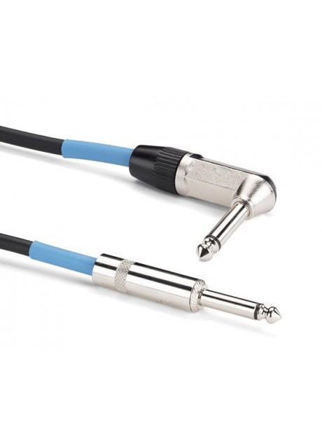 Samson TIL20  Genuine Neutrik nickel-plated phone plug 20  Instrument Cable